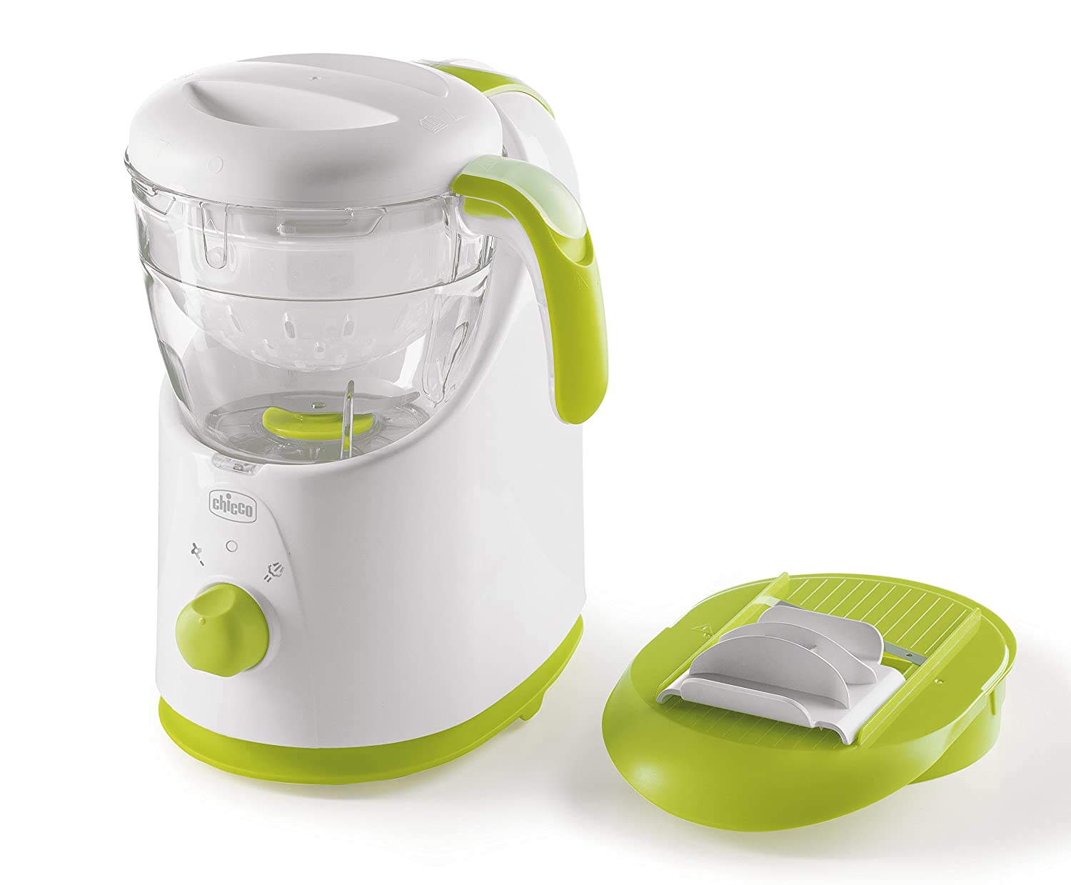 Chicco 00007656000000 Dampfgarer Easy Meal - Bpa frei - mehrfarbig