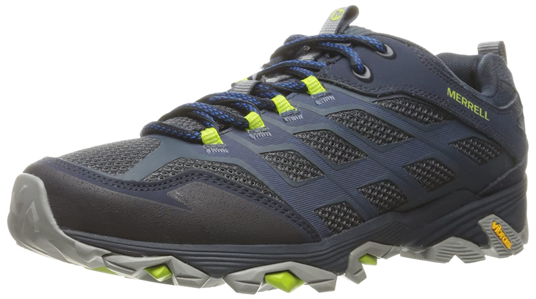 Merrell Moab Fst, Zapatillas de Senderismo para Hombre 43.5 EU|Azul (Navy)
