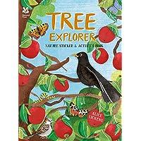 Tree Explorer: Nature Sticker & Activity Book