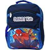 Tinytot Spiderman Polyester Blue School Bag for Boys