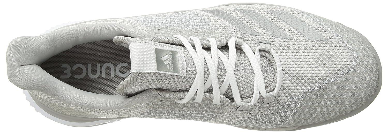 adidas Women's Crazyflight Bounce 2 Volleyball Shoe B077X3Y62D 6 B(M) US White/Silver Metallic/Grey