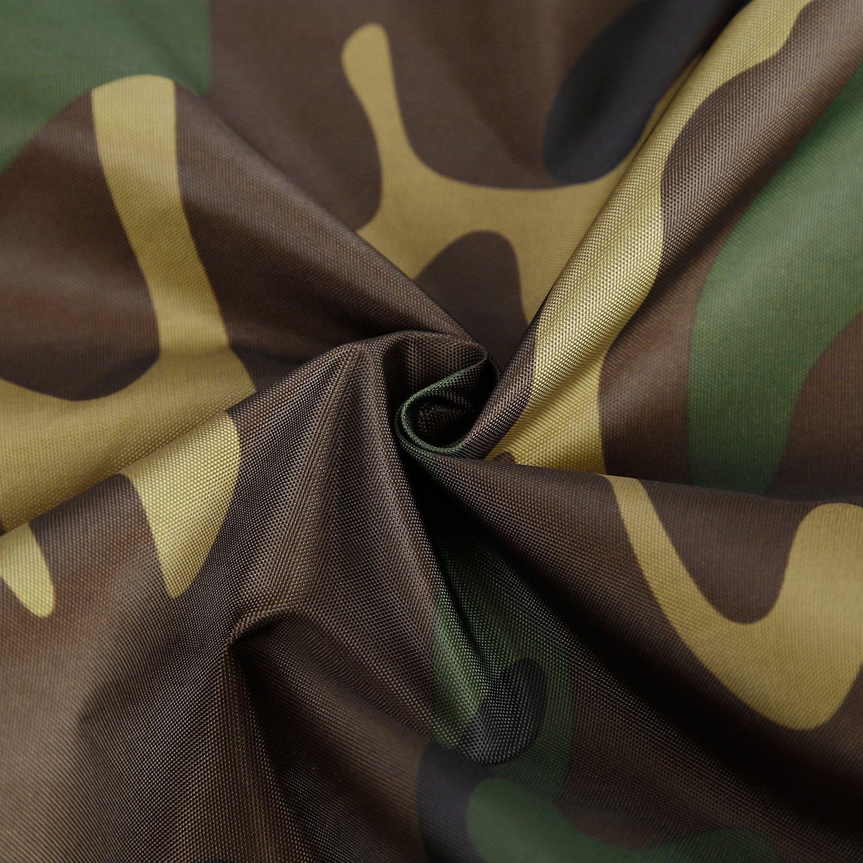 OUTAD Cubierta Impermeable Protector de Lluvia de Mochila con Cinta Reflectante para el Aire Libre Escalada Paseos a Caballo Viajes