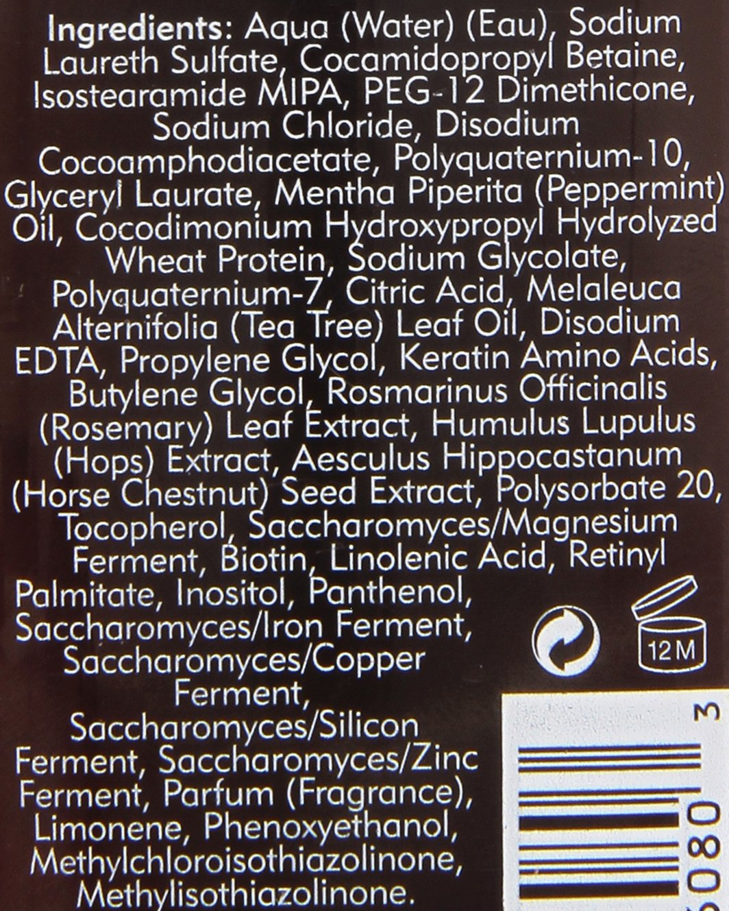 Amazon.com : American Crew Anti Hair Loss Thickening Shampoo 8.5 oz : Beauty