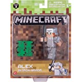 Minecraft 16486 3-Inch Action Figure - Alex in Iron Armour Pack