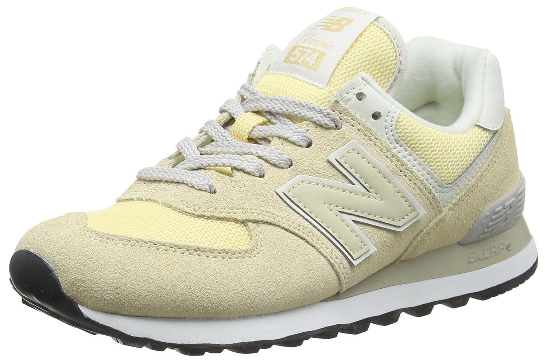 New Balance Damen 574v2 Sneaker, Elfenbein (Vanilla/Vanilla Cra)