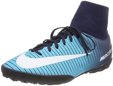 818fefe7927 Nike Youth MercurialX Victory VI CR7 DF Turf Shoes  Obsidian  (1Y)