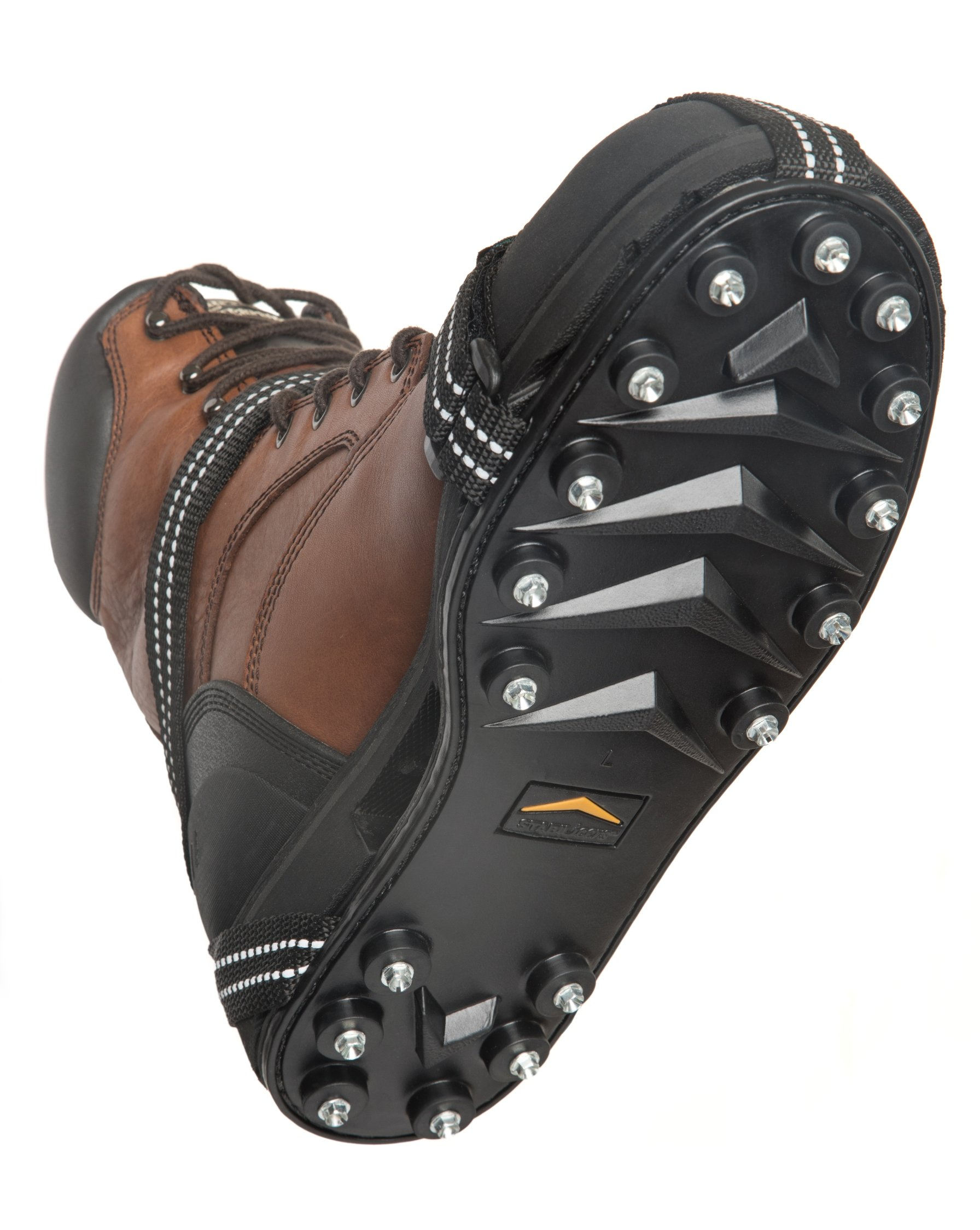 STABILicers Maxx Original Heavy Duty Ice Traction Cleat for Snow and Ice - Medium - Traction cleats for Boots and Shoe Ice Cleats