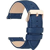 Fullmosa 6 Colores para Correa de Reloj, Cross Piel Correa Huawei Samsung Correa/Banda/Band/Pulsera/Strap de Recambio…