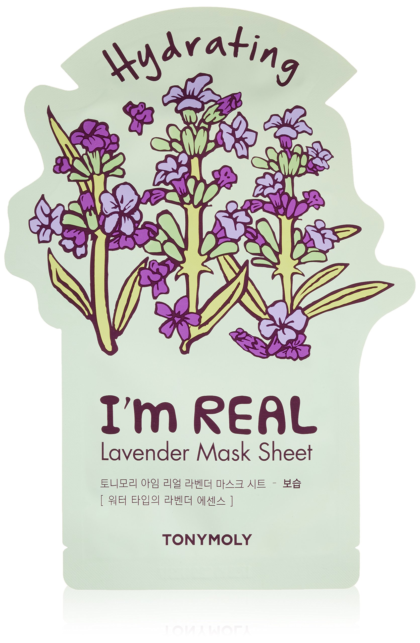 TONYMOLY I'm Real Lavender Hydrating Mask Sheet