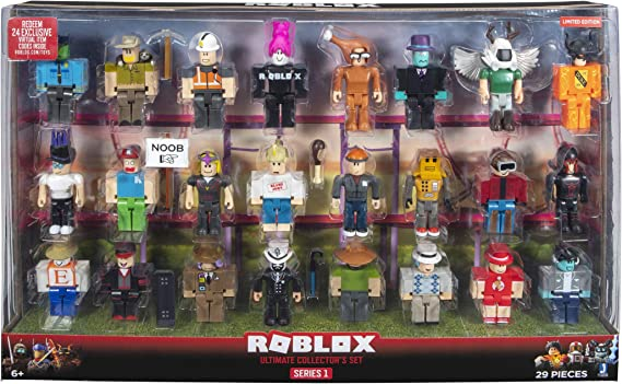 Roblox Classic Noob Colors Roblox Free Boy Face Amazon Com Roblox Ultimate Collector S Set Series 1 Toys Games