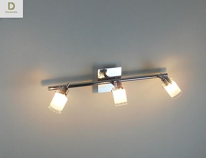 Plafoniera Moderna Per Bagno : Plafoniera moderna lampadario faretti luci bagno camera amazon