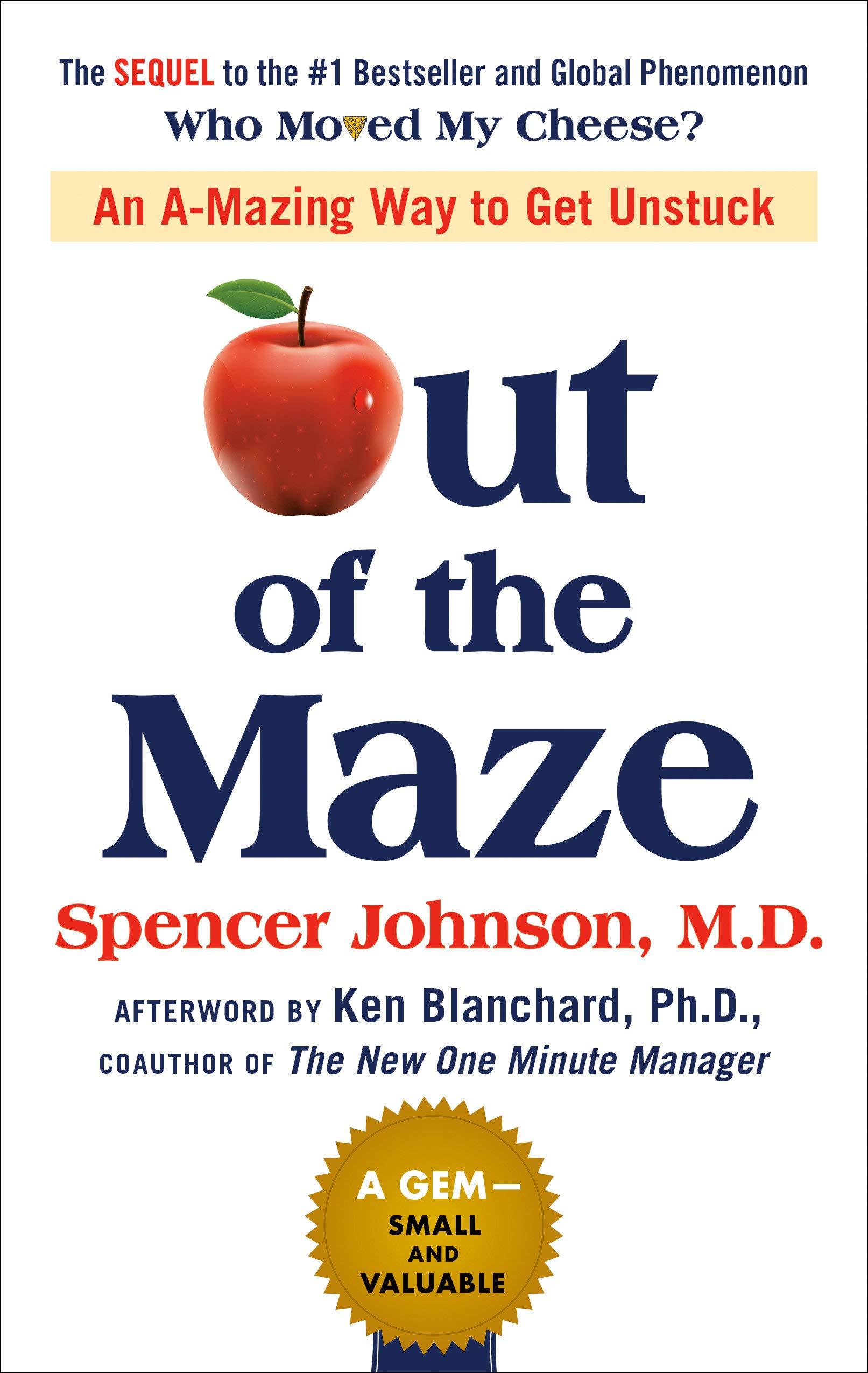 Image for Out of the Maze: An A-Mazing Way to Get Unstuck