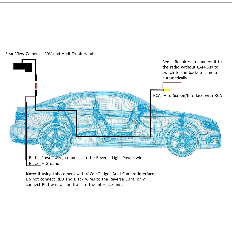 Volkswagen Backup Camera Wiring Diagram - Wiring