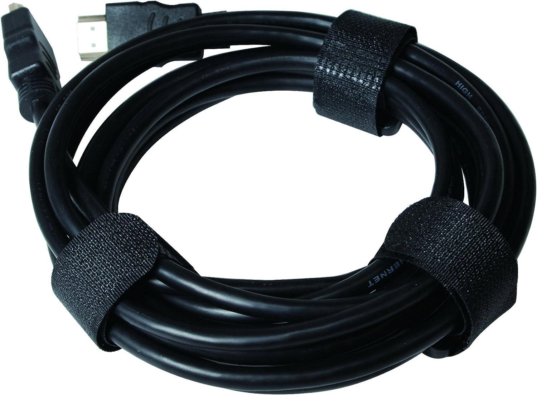LogiLink KAB0056 Longueur du produit Lot de 10 20x150 mm Noir