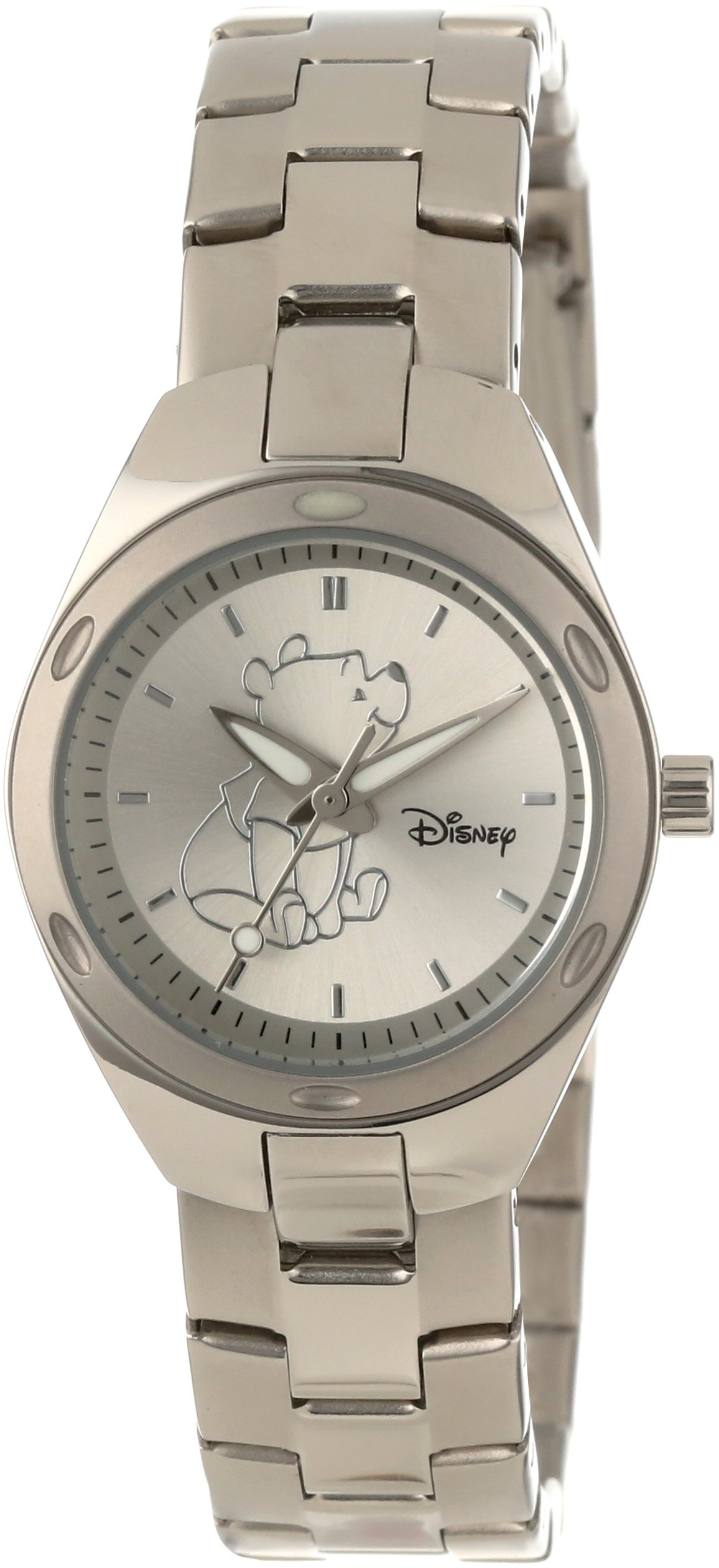 Disney Women's W000492 Winnie The Pooh Stainless Steel Bracelet Watch