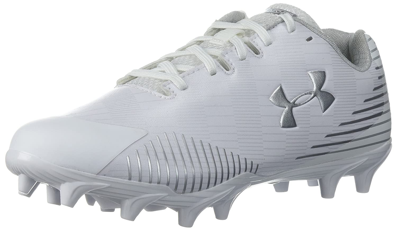 Under Armour Women's Lax Finisher MC Lacrosse Shoe, White/Black B071Z9DR7C 10.5 M US|White