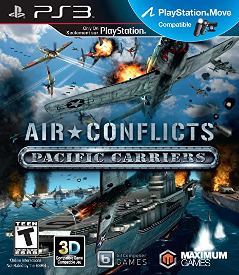 Kết quả hình ảnh cho Air Conflicts: Pacific Carriers cover ps3