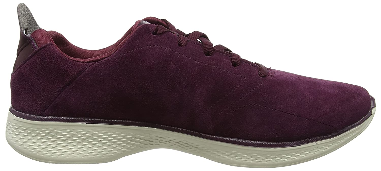 Skechers Damen Go Walk 4 Sneaker Rot (Burgundy)