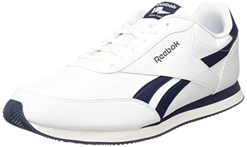 fa59ab756 Reebok Royal Cl Jog 2l, Men's Trainers, White (White / Collegiate Navy)