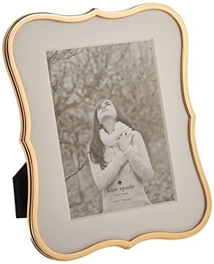 Amazoncom Kate Spade New York Crown Point Gold Picture Frame 5x7