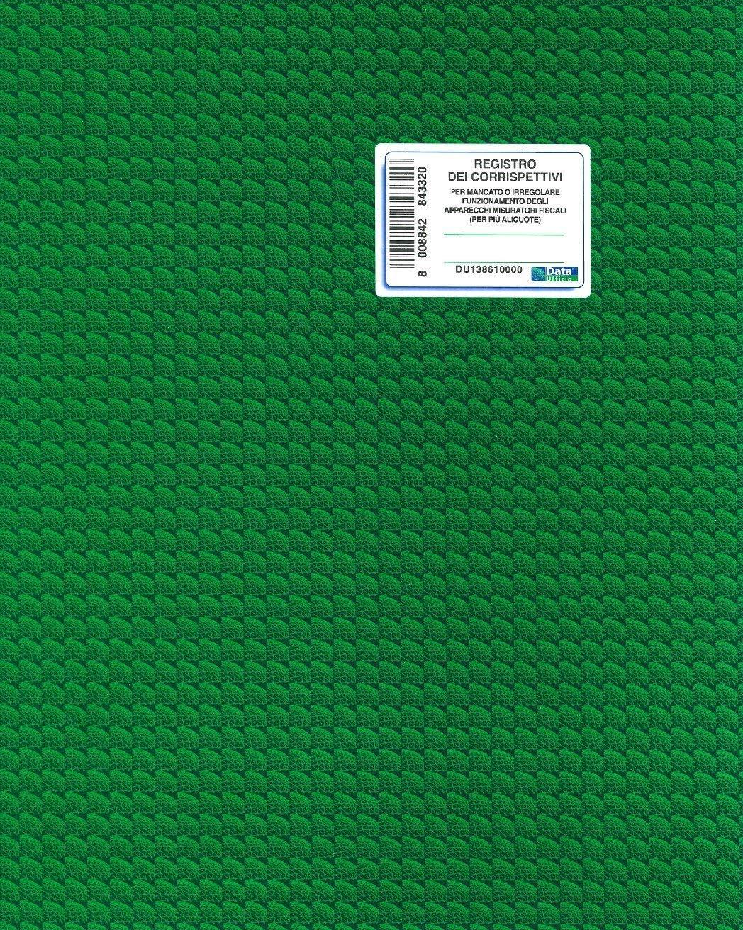 46FG H.31CM X B.24,5CM REGISTRO CORRISPETTIVI MANCATO FUNZIONAMENTO REGISTRATORE DI CASSA