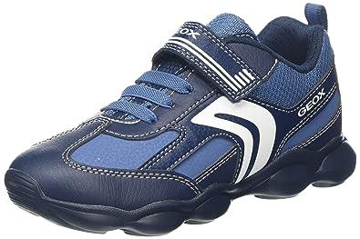 Bambini Geox Pavel Navy Trainers & Sport Scarpe Blu