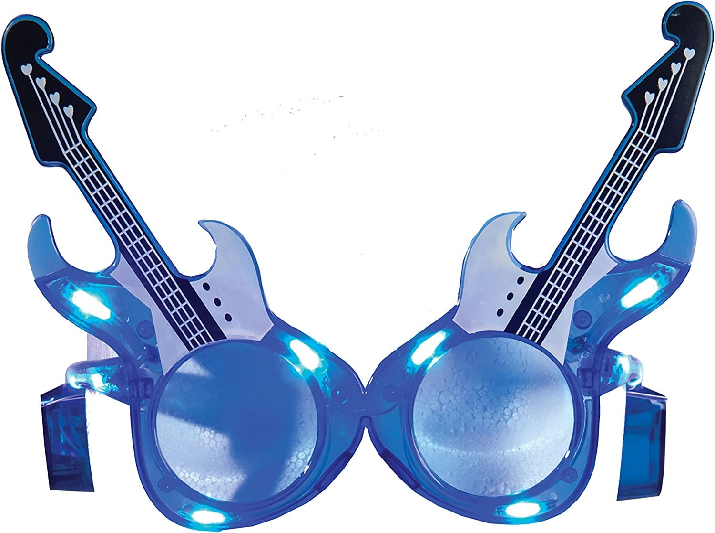 LED Light-up guitarra eléctrica Shades novedad gafas de sol ...