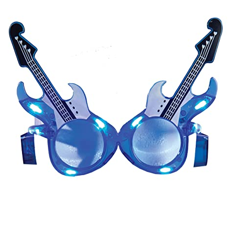 Amazon.com: LED Light-up Guitarra Eléctrica Shades novedad ...