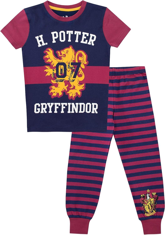 Pigiama a Maniche Lunghe per Ragazze Vestibilitta Stretta Harry Potter