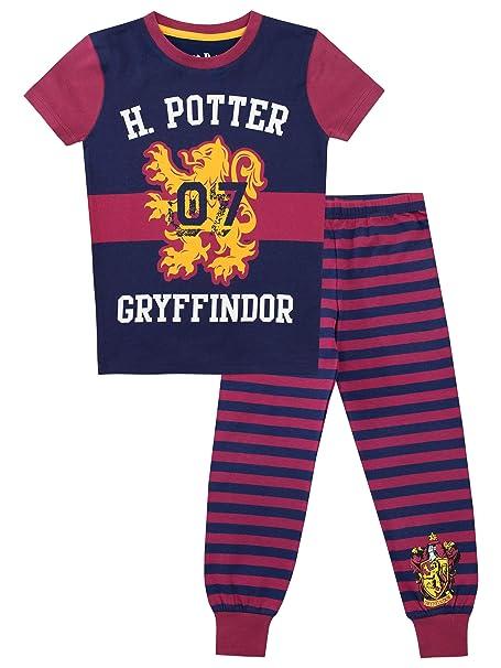 Harry Potter Pijama para niñas Gryffindor Multicolor 5-6 Años