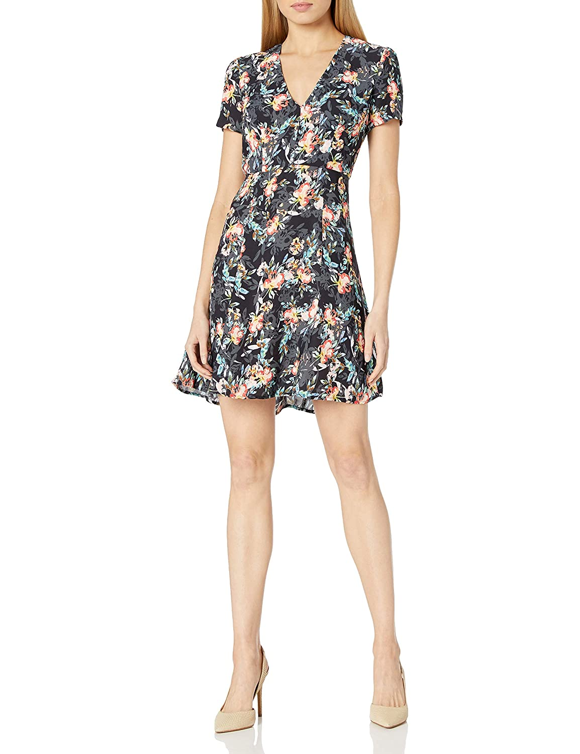 French Connection Womens Delphine Crepe Dress