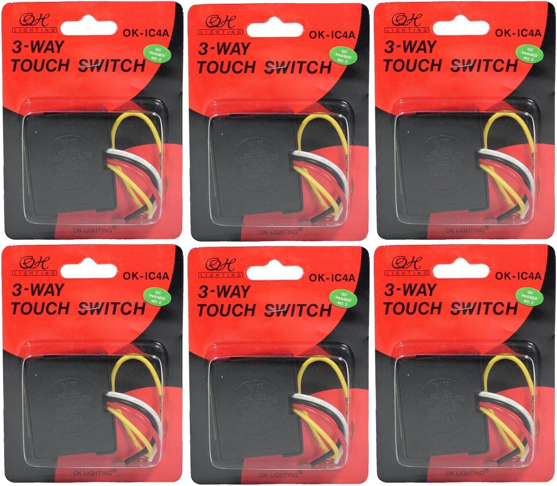 Single Touch Light Sensor