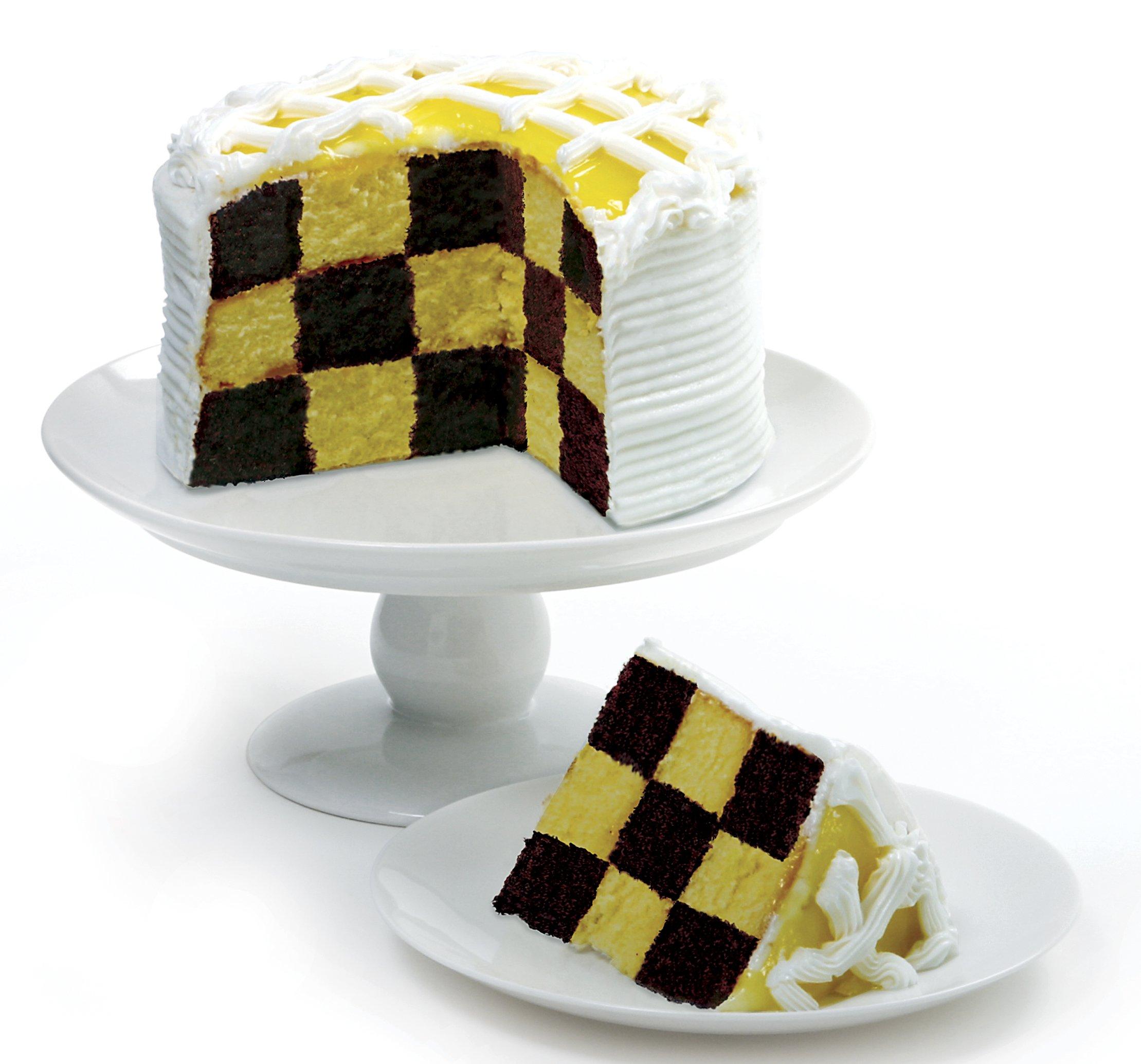 Norpro Checkerboard Cake Pan Set