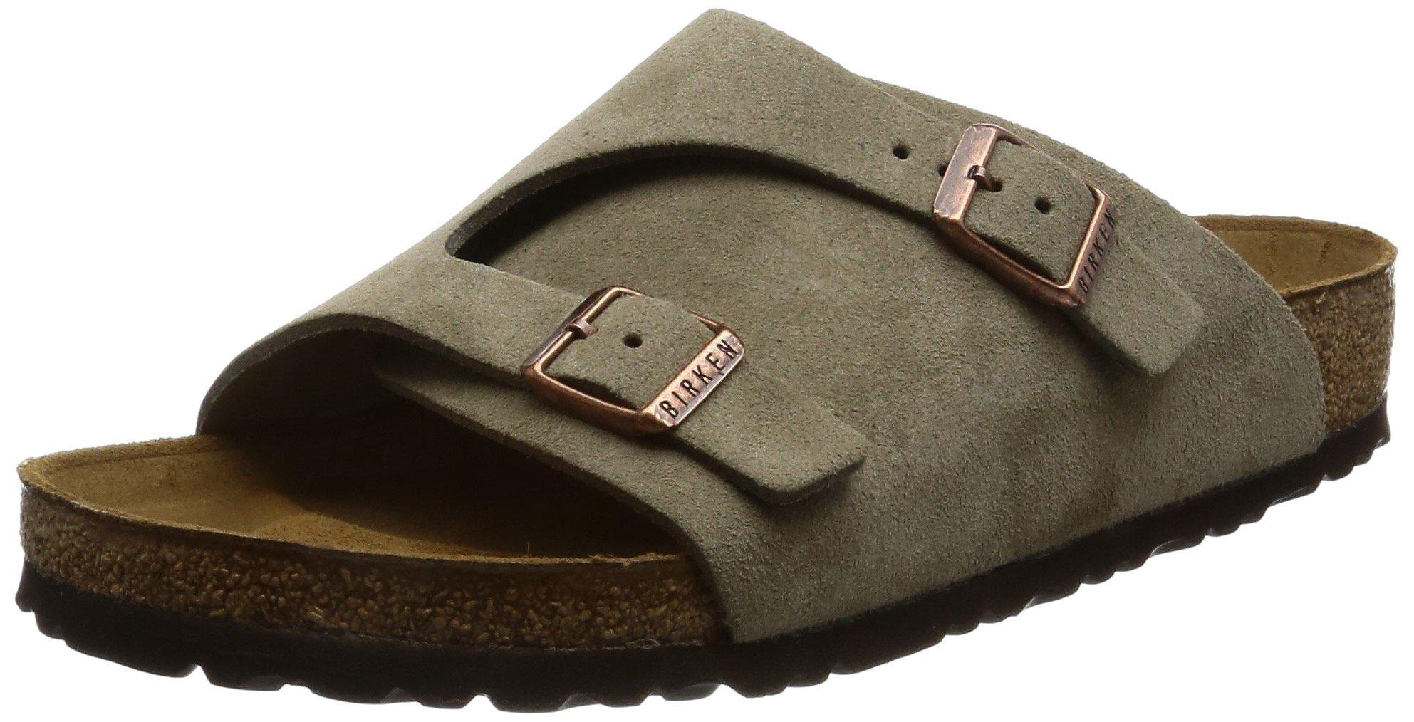 Birkenstock Zurich Sandal Taupe Suede Size 37