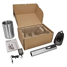 Oster Rechargeable and Cordless Wine Opener with Chiller
