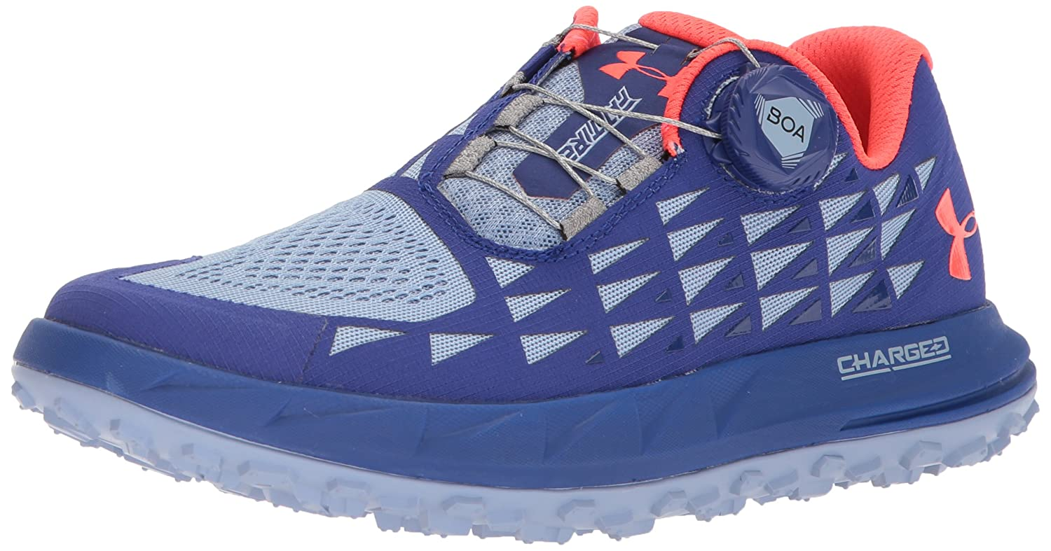 Under Armour レディース Women's Fat Tire 3 B071LHDCGG 9 B(M) US|Formation Blue/Chambray Blue/Neon Coral Formation Blue/Chambray Blue/Neon Coral 9 B(M) US