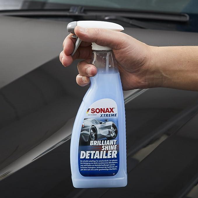 Sonax Xtreme Brilliantshine Detailer 750 Ml Schnelle Schonende Und Gründliche Lackpflege Xtreme Kunststoffgel Außen Nanopro 250 Ml Pflegt Unlackierte Kunststoffteile Im Außenbereich Auto