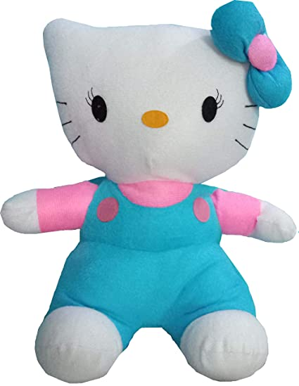 3a9c7392c2f8 Buy CIPS Hello Kitty Cat Kitten 30cm Plush Teddy Bear Stuffed Soft Toys  Doll for Girls Kids Best Birthday Gift Online at Low Prices in India -  Amazon.in