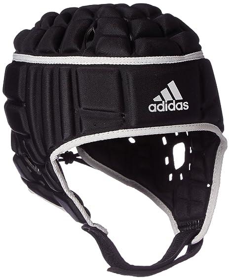 20892766c41 adidas Rugby Headguard Scrum Cap Head Protection Black - L  Amazon ...