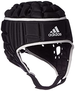 Adidas Rugby HEADGUARD Casco, Hombre, (Negro/Plamat), XS