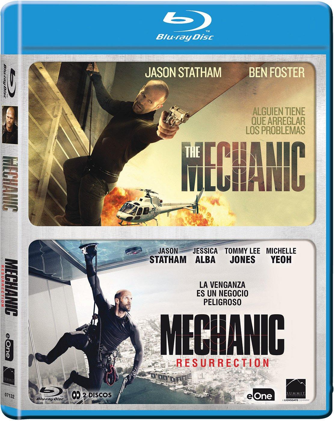 Pack The Mechanic 1/2 Blu-Ray [Blu-ray]: Amazon.es: Jason Statham ...