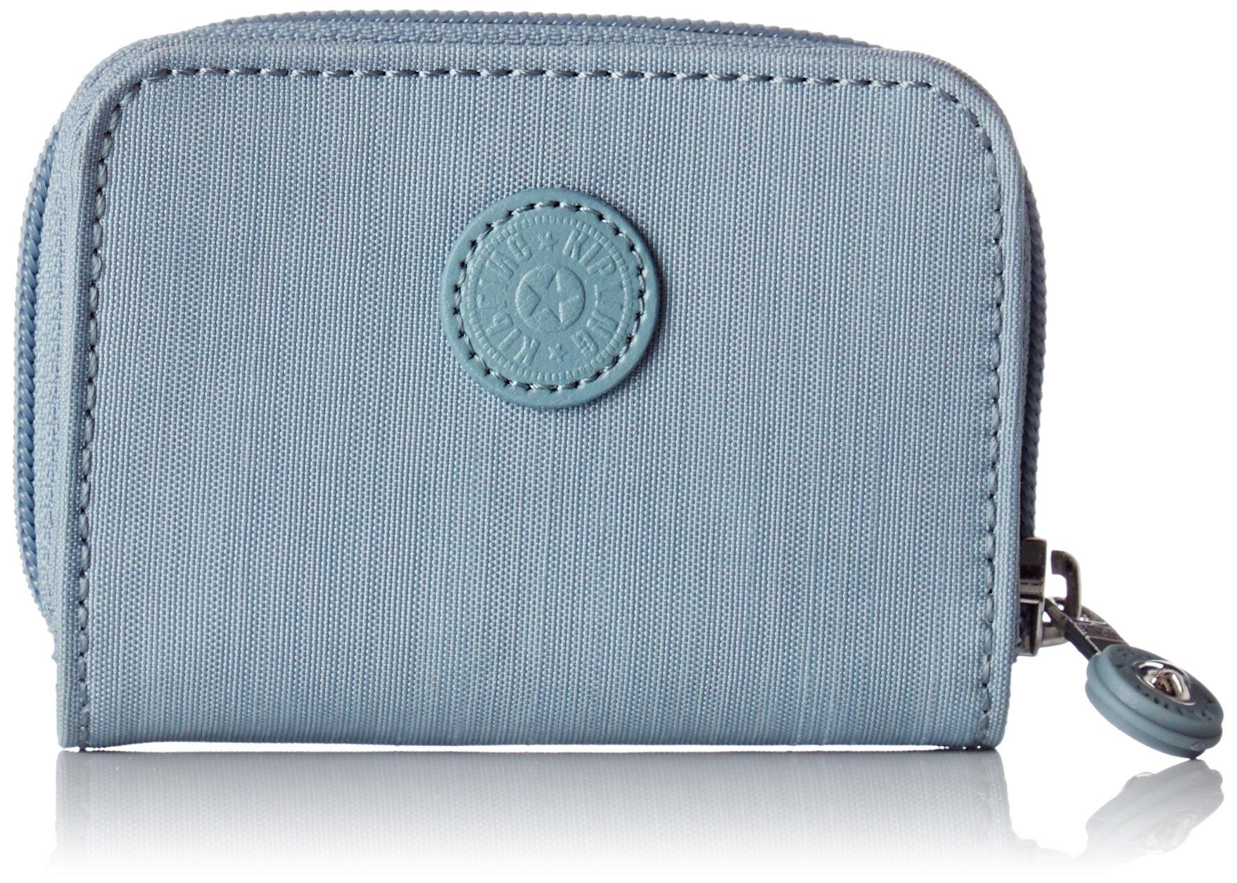 Kipling Tops, Women's Wallet, Blue (Dazz Soft Aloe), 15x24x45 cm (W x H x L)