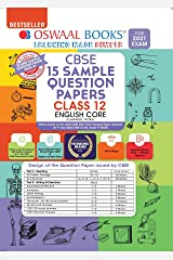 Oswaal CBSE Sample Question Paper Class 12 English Core Book (For 2021 Exam) Kindle Edition