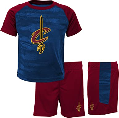 NBA Cleveland Cavaliers-Shorts and T-Shirt Set Conjunto Ropa ...