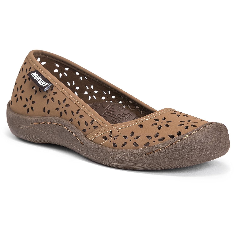 MUK LUKS Women's Sandy Shoes Sneaker B01MSA1JG0 8 B(M) US|Tan