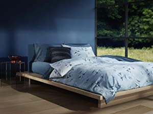 Calvin Klein Home Tulip Bedding, Full/Queen, Dusk