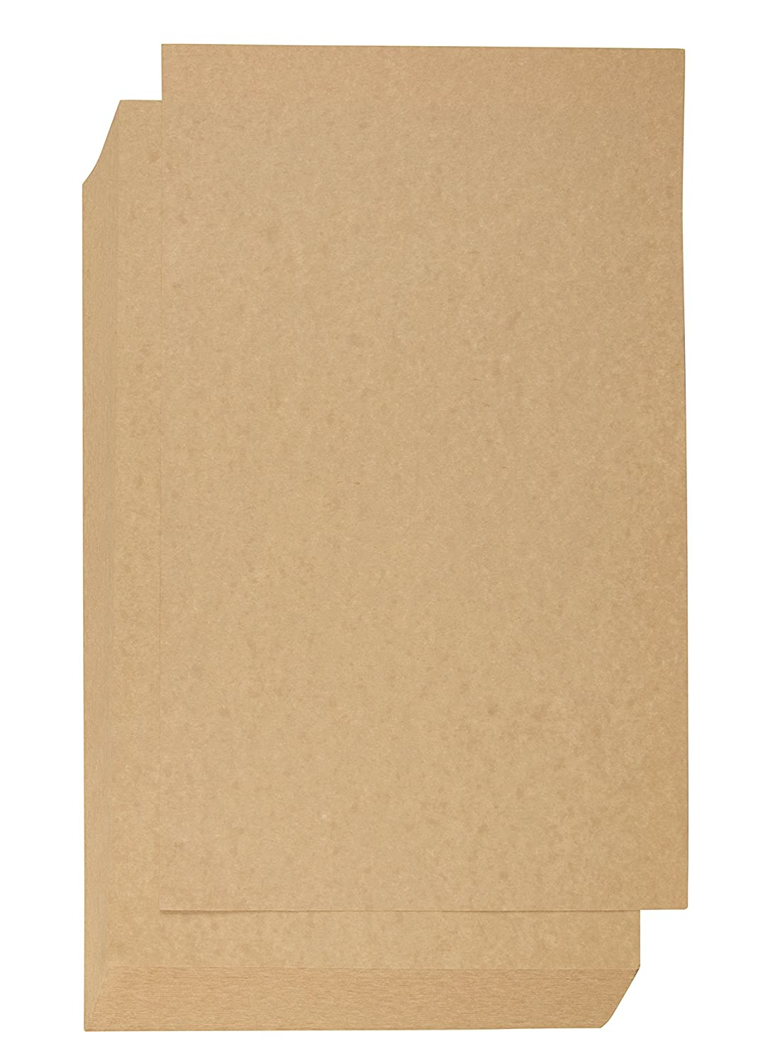 Parchment Stationery Paper - 60-Sheet Legal Size Natural Parchtone Paper, Vintage Scrapbook Cardstock Paper for Menu, Program, Document, 180GSM, Gold, 8.5 x 14 inches Juvale