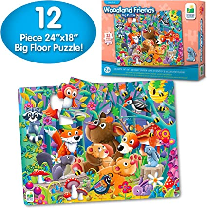 The Learning Journey My First Big Puzzle! Woodland Friends Puzzle