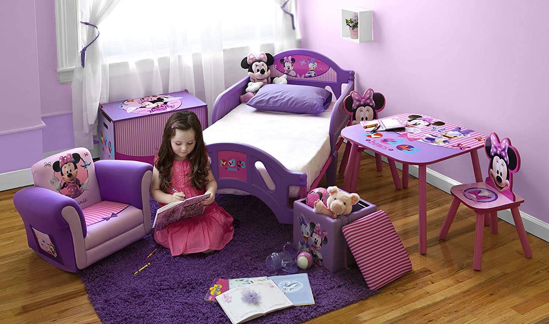 Scrivania In Legno Minnie Mouse : Delta children minnie mouse tavolo da disegno legno rosa