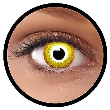 Farbige Kontaktlinsen Gelb Avatar Ideal Fur Halloween Karneval